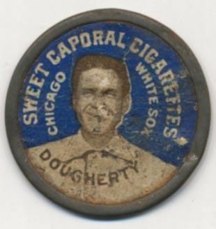 Lot #23 1909 Domino Discs # 36 Patsy Dougherty Cond: Good