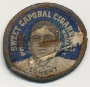 Lot #11 1909 Domino Discs # 71 Hans Lobert Cond: Poor