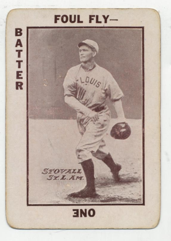 Lot #81 1913 National Game # 37 George Stovall Cond: VG-Ex/Ex