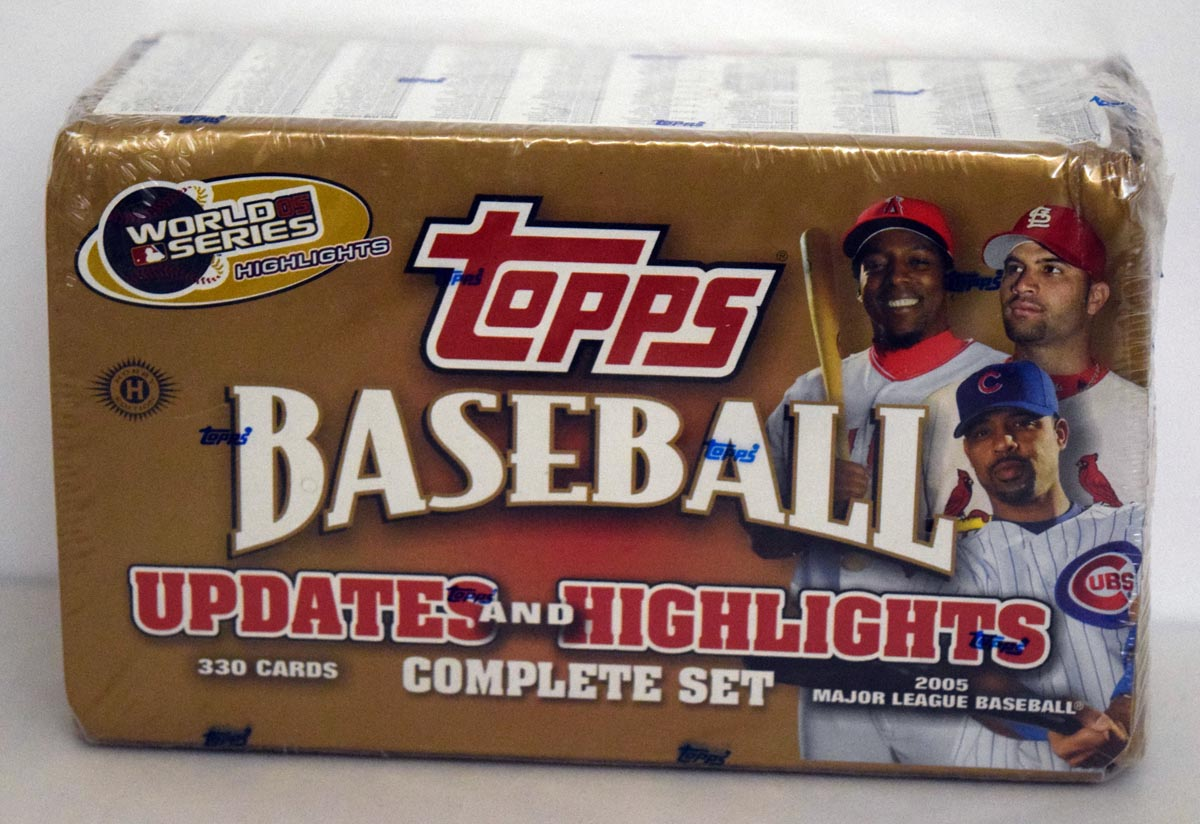 Lot #824 2005 Topps Traded  Complete Set Cond: Nm-Mt