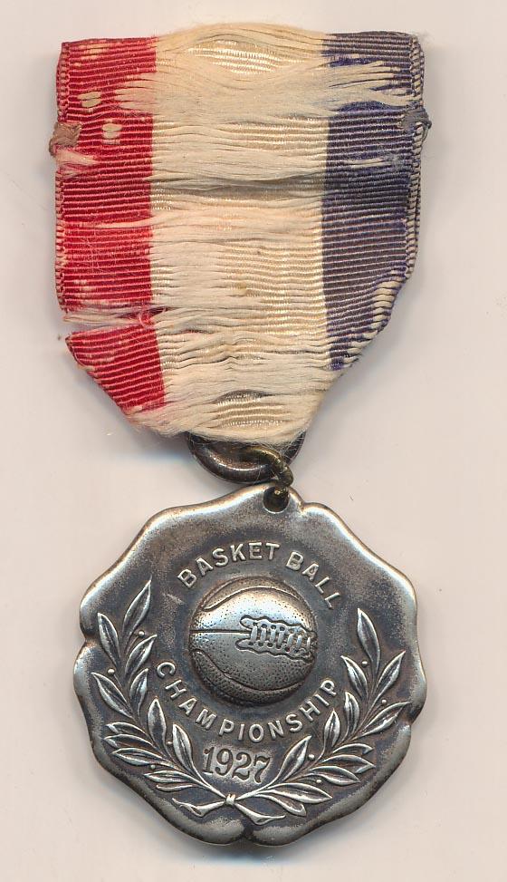 Lot #850 1927   Championship Pin Cond: Ex+