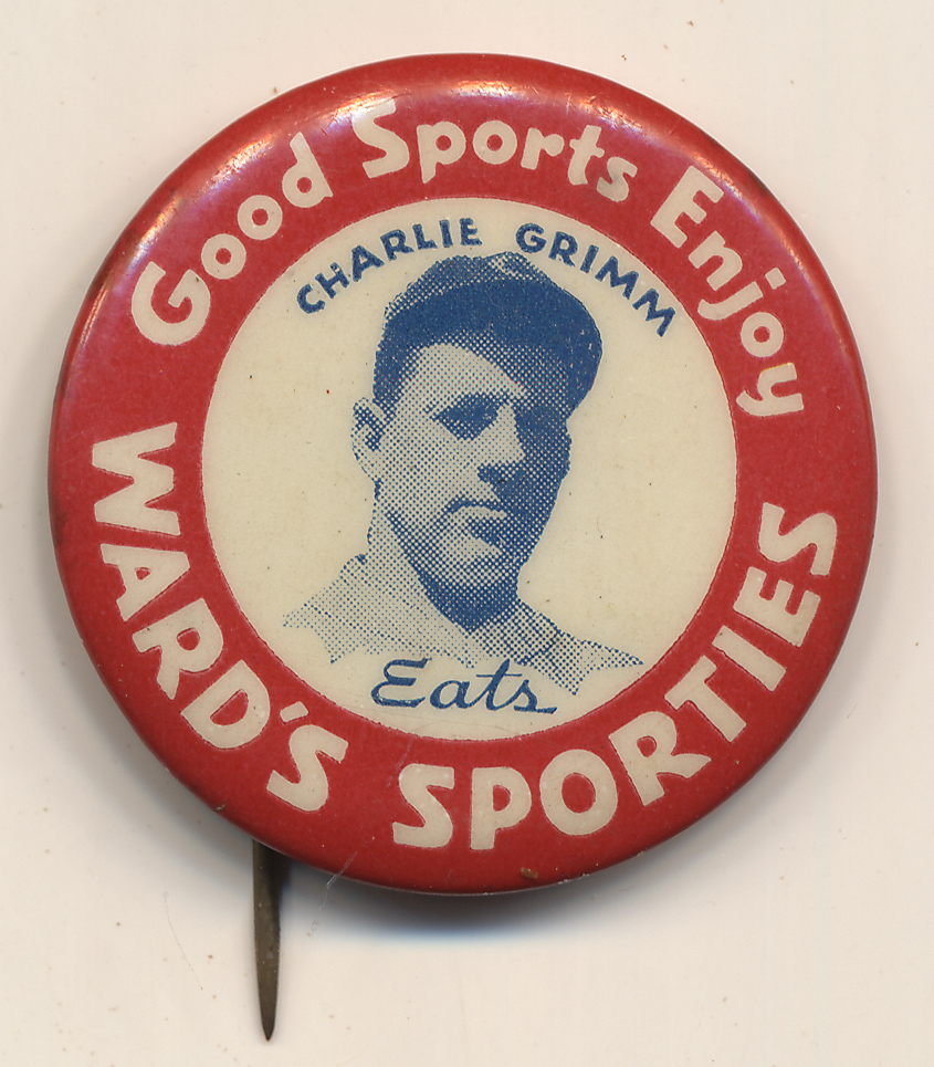 Lot #125 1934 Ward's Sporties Pins  Grimm Cond: NM