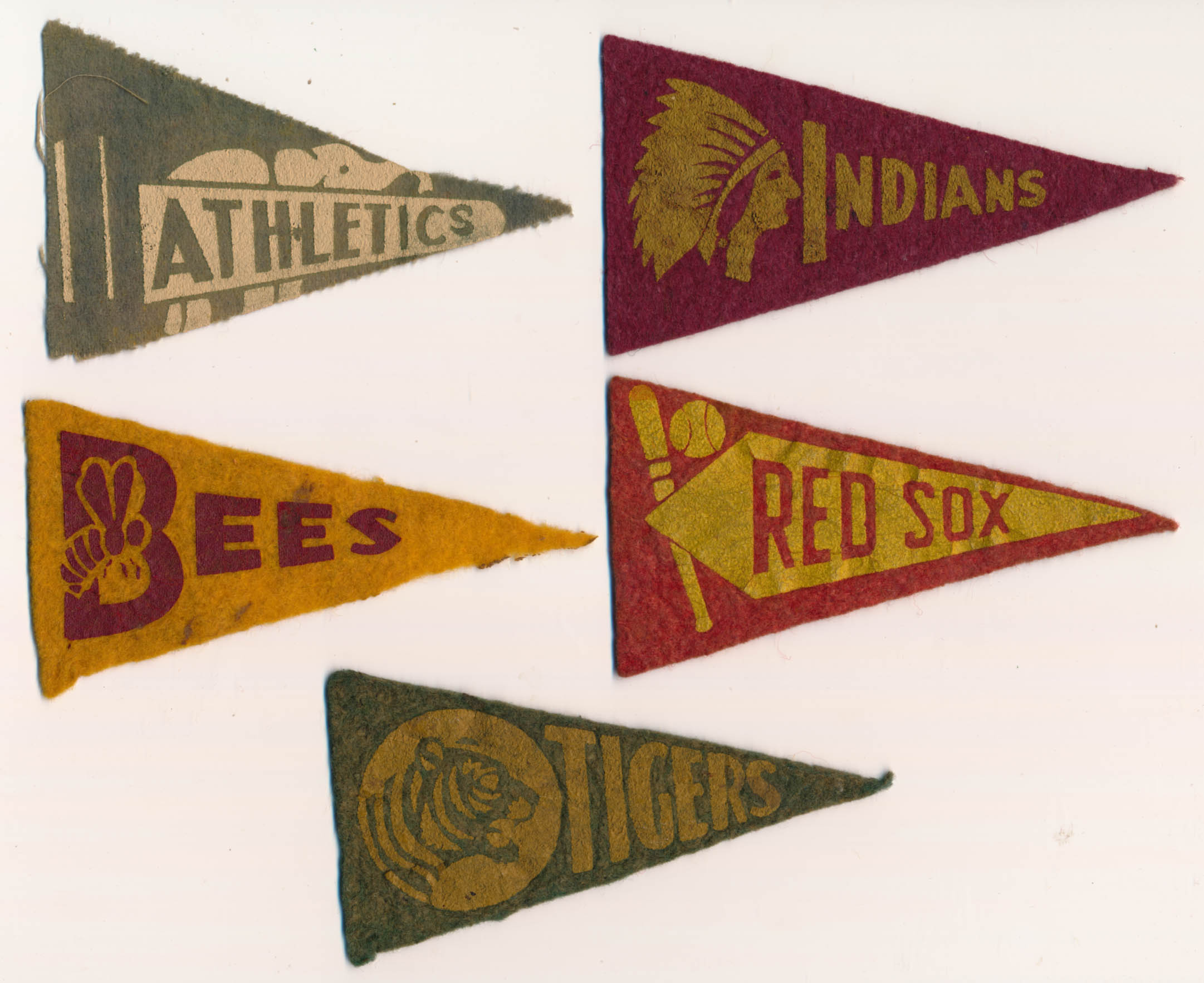 1936 BF3  Lot of 5 different teams Ex