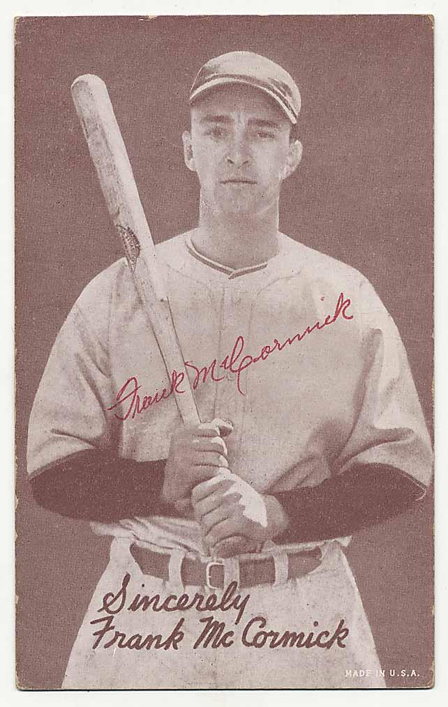 Lot #57 1939 Salutation Exhibit  McCormick, Frank (JSA LOA) Cond: 9.5
