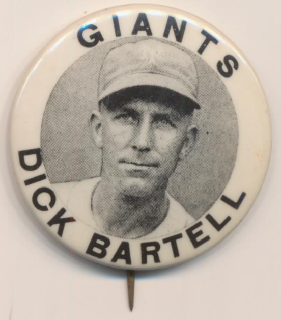 Lot #1485   PM10 Pin  Dick Bartell Cond: NM