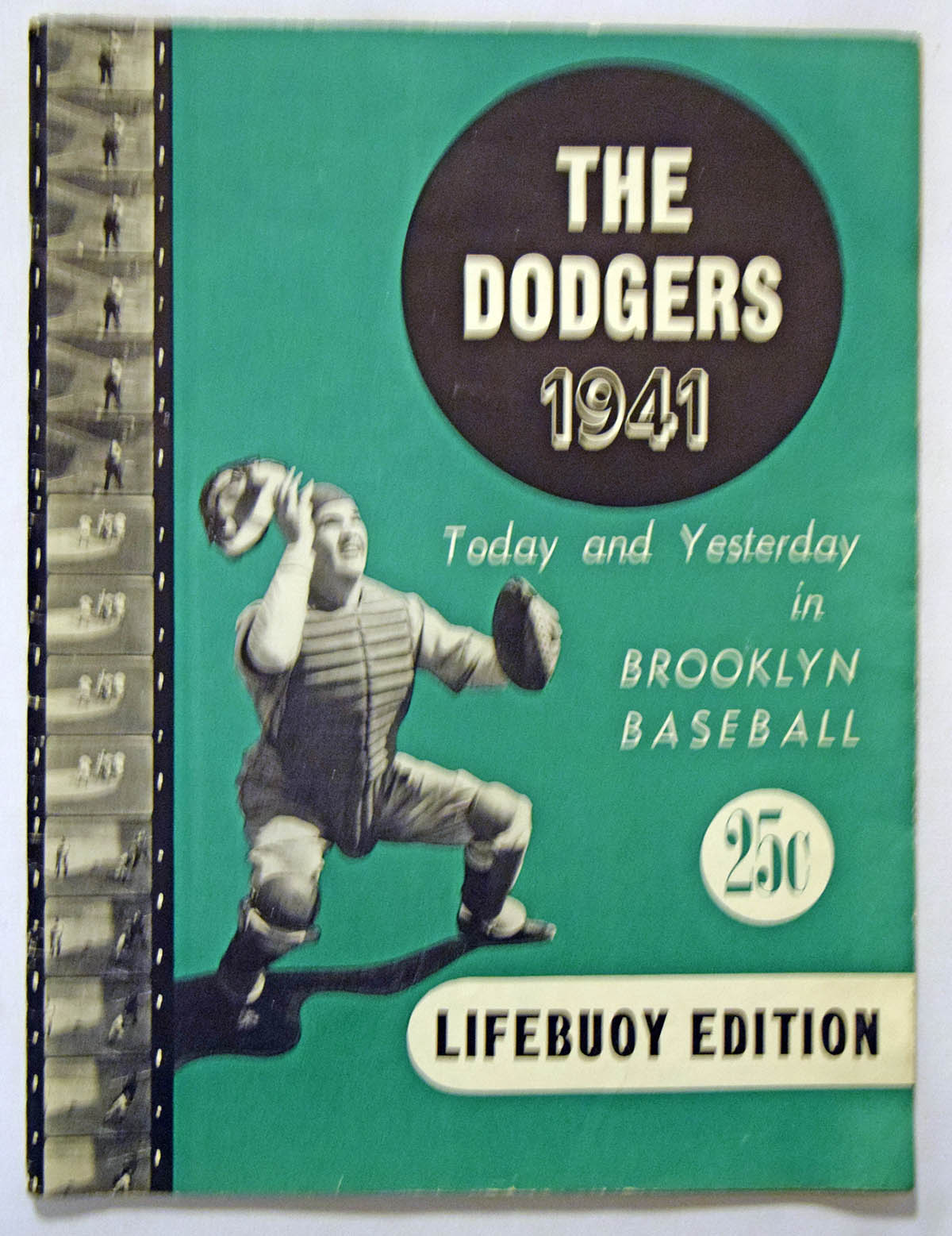 1941 Yearbook  Brooklyn Dodgers Ex+