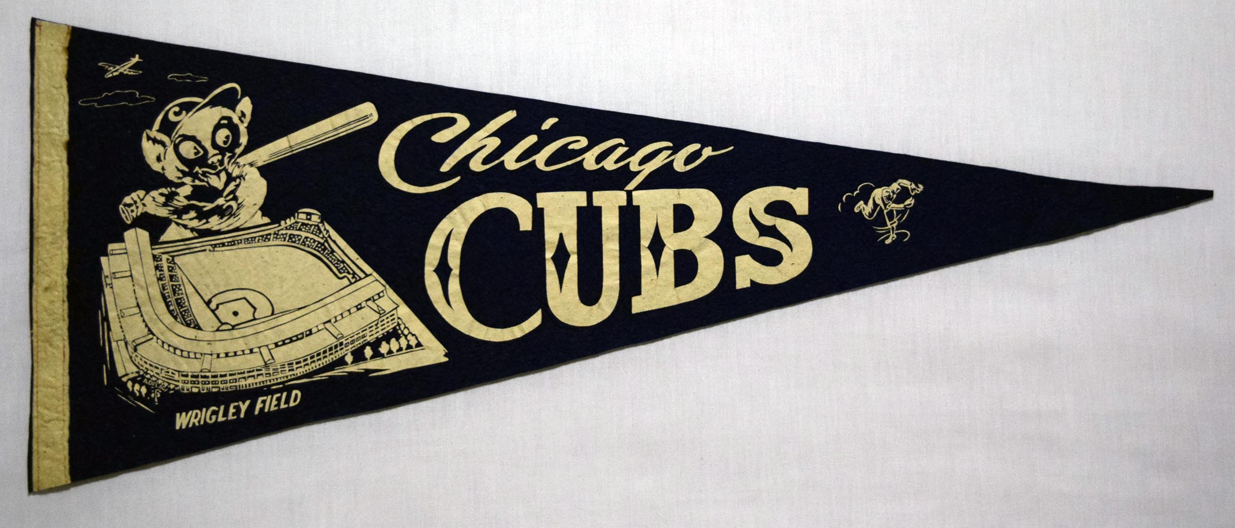 1945 Pennant  Chicago Cubs Ex