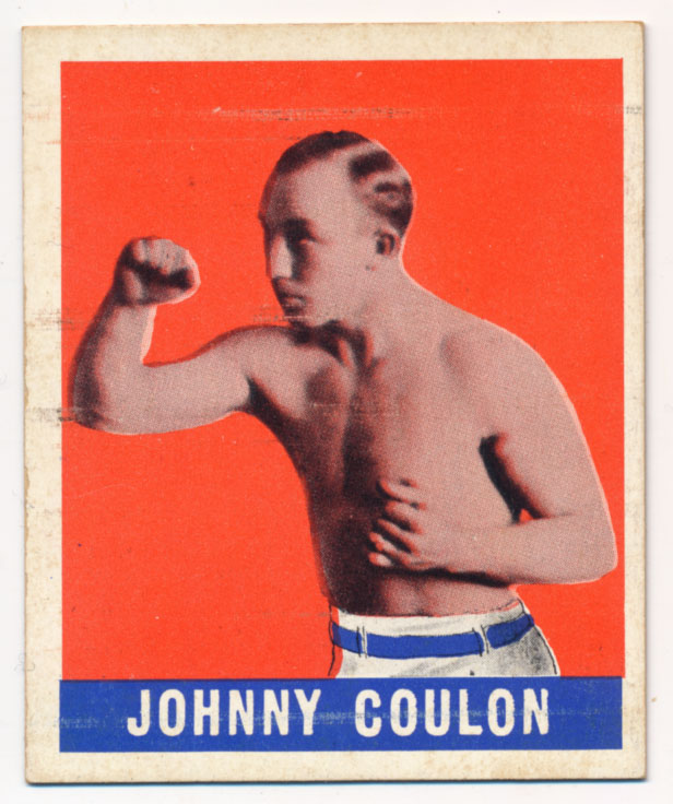 Lot #759 1948 Leaf # 78 Johnny Coulon Cond: Ex-Mt