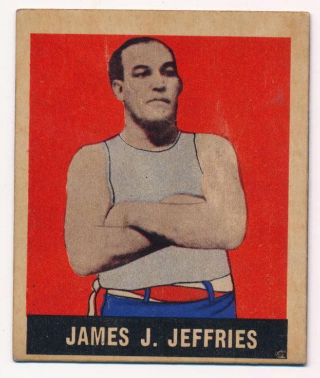 Lot #752 1948 Leaf # 9 James J. Jeffries Cond: Ex