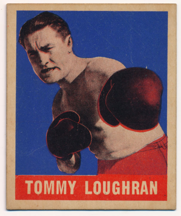 Lot #756 1948 Leaf # 27 Tommy Loughran Cond: Ex-Mt+