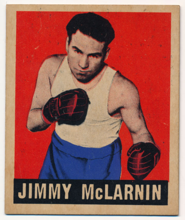 Lot #757 1948 Leaf # 29 Jimmy McLarnin Cond: Ex-Mt