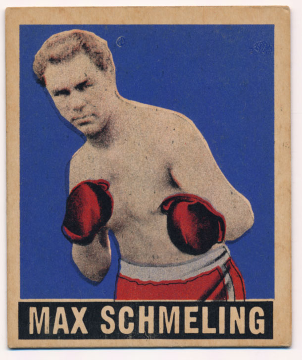 Lot #758 1948 Leaf # 32 Max Schmelling Cond: Ex