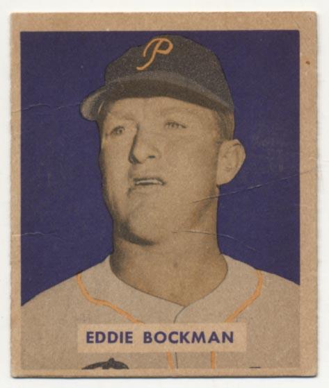 Lot #209 1949 Bowman # 195  Cond: VG+