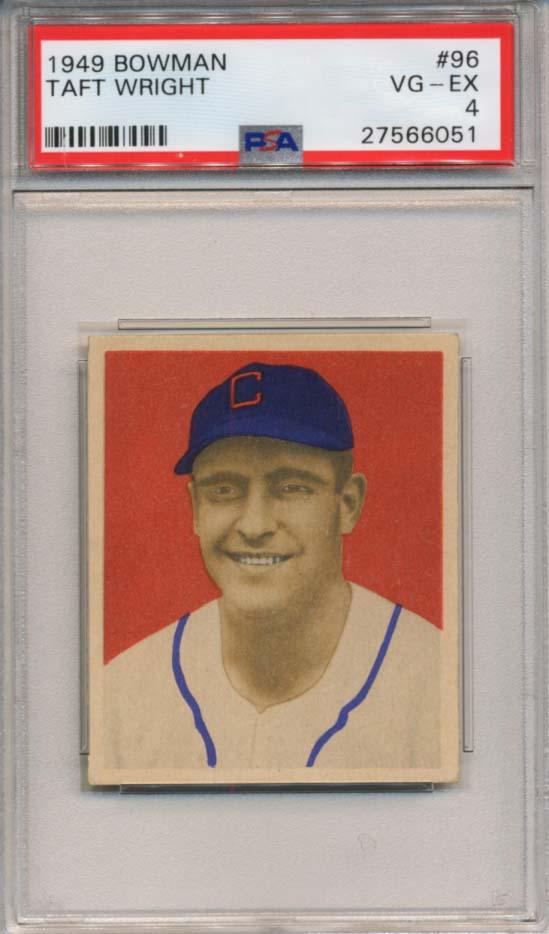 Lot #193 1949 Bowman # 96  Cond: PSA 4