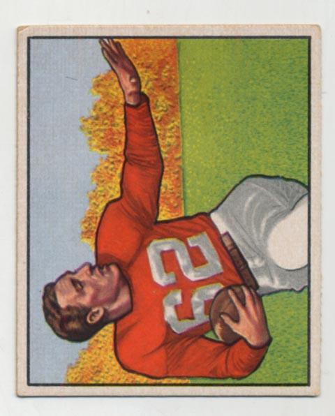 Lot #585 1950 Bowman # 129 Trippi Cond: Ex++