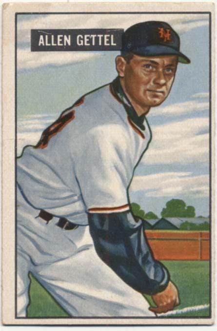 Lot #341 1951 Bowman # 304  Cond: VG-Ex/Ex
