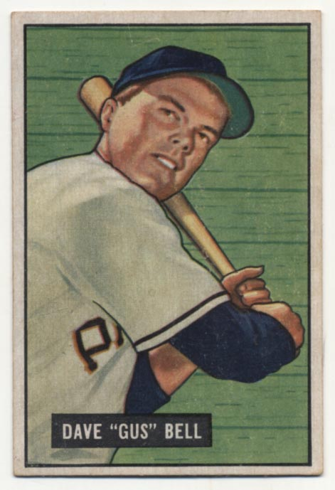 Lot #259 1951 Bowman # 40 Bell RC Cond: Ex++