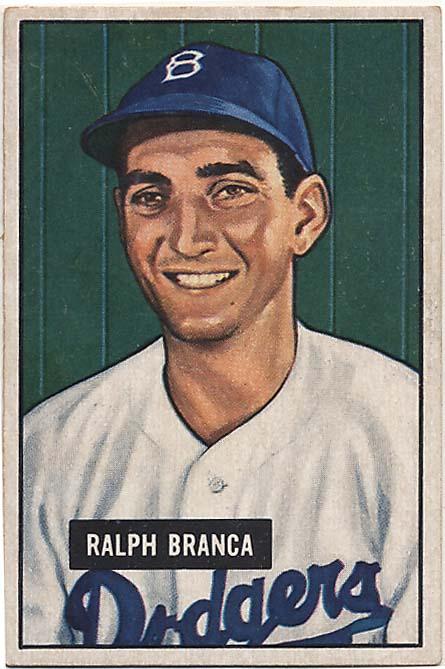 Lot #317 1951 Bowman # 56 Branca Cond: Ex+
