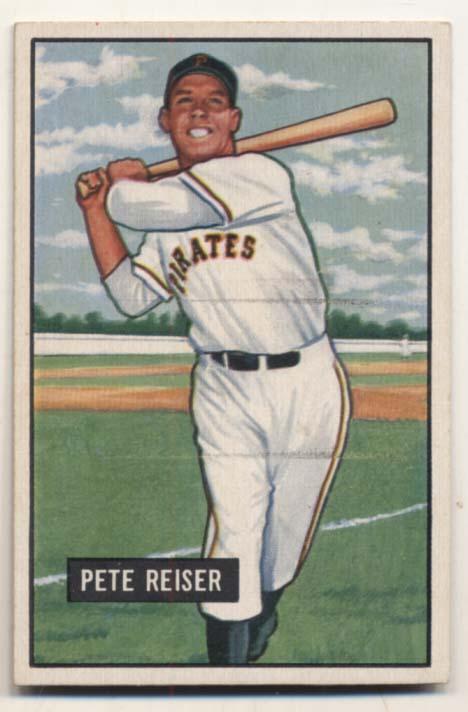 Lot #231 1951 Bowman # 238 Reiser Cond: Ex-Mt