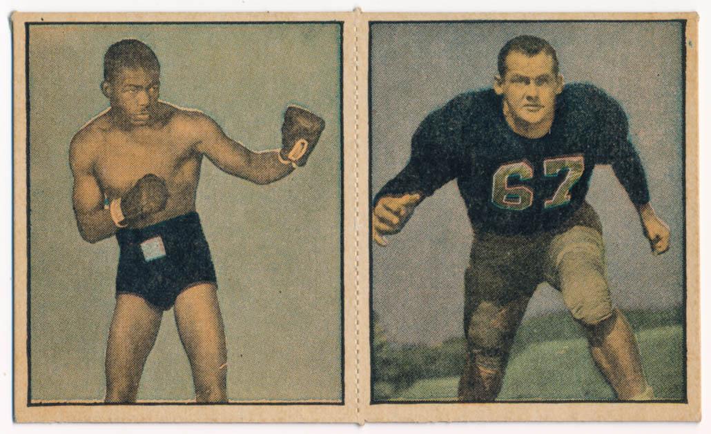 Lot #244 1951 Berk Ross  Franz, FB; Williams, Box Cond: Ex-Mt