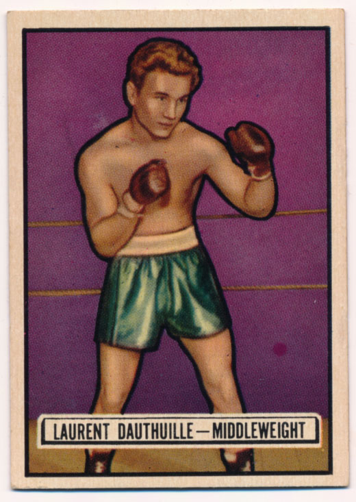 Lot #769 1951 Ringside # 38 Dauthuille Cond: NM