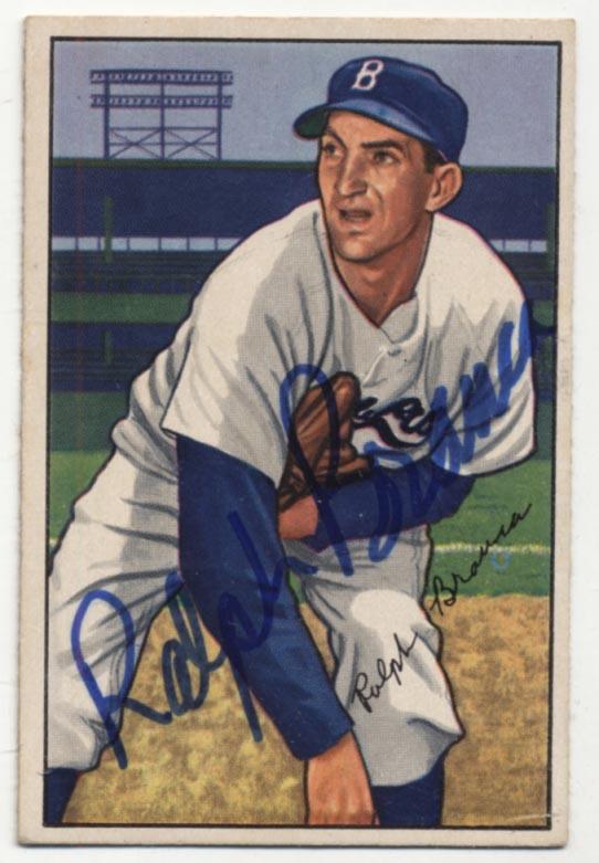 Lot #7 1952 Bowman # 96 Branca Cond: 9.5