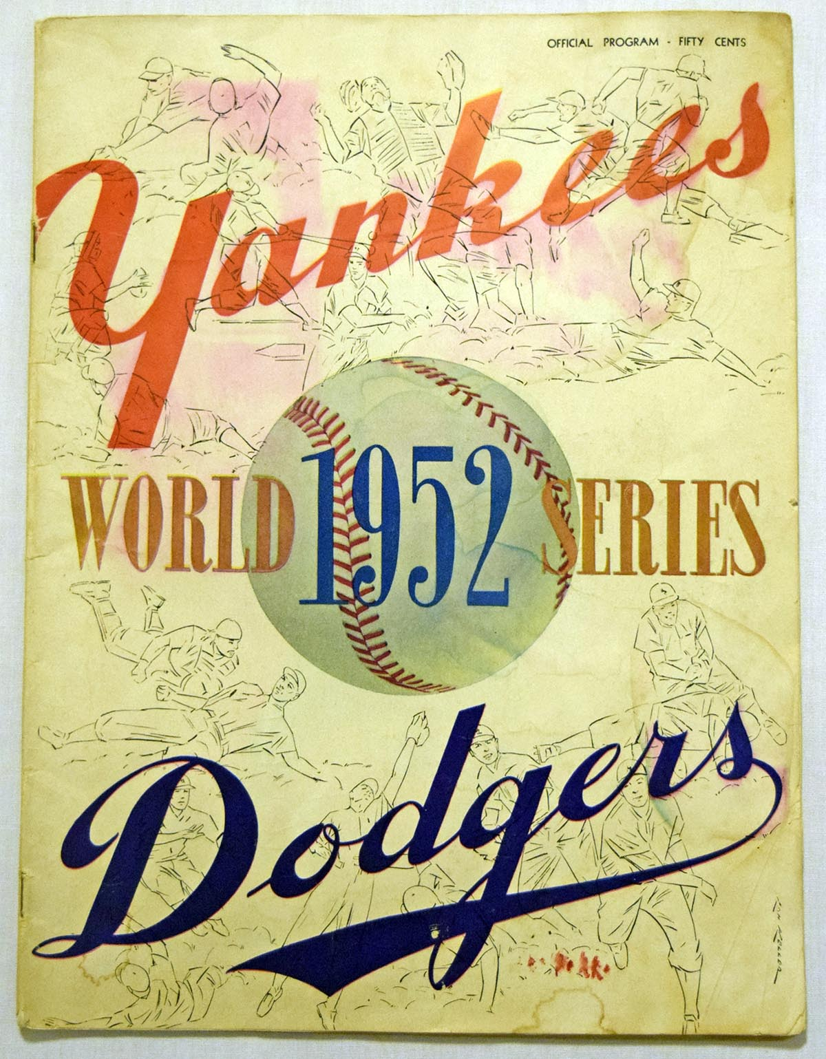 1952 WSP  At Yankees GVG Unscored