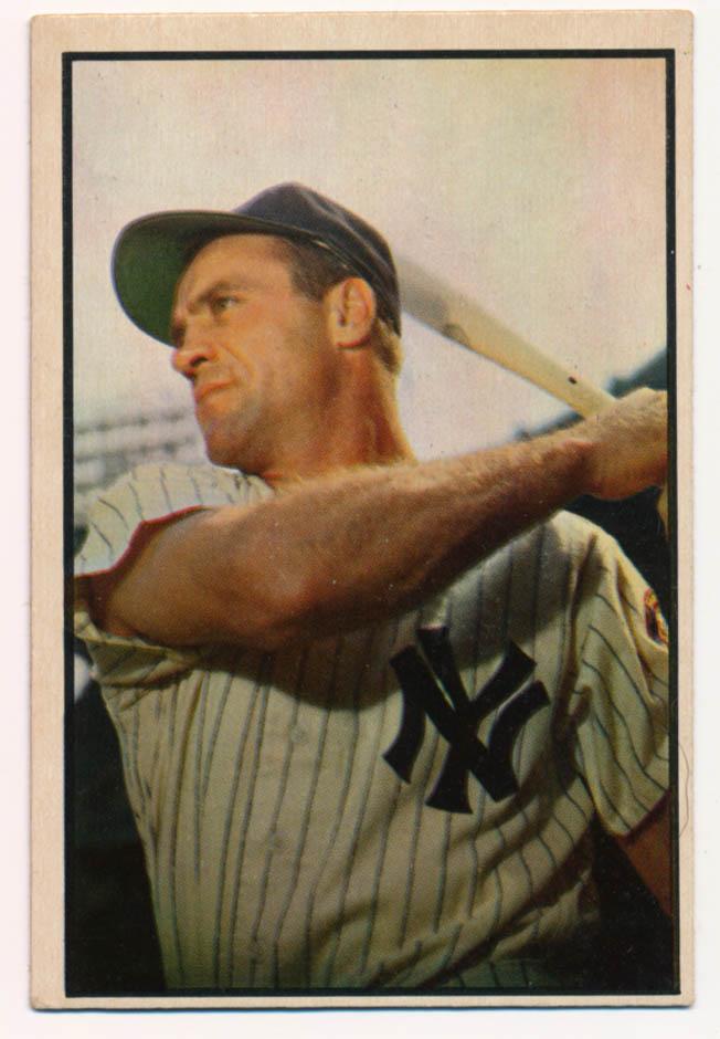 Lot #420 1953 Bowman Color # 84 Bauer Cond: Ex