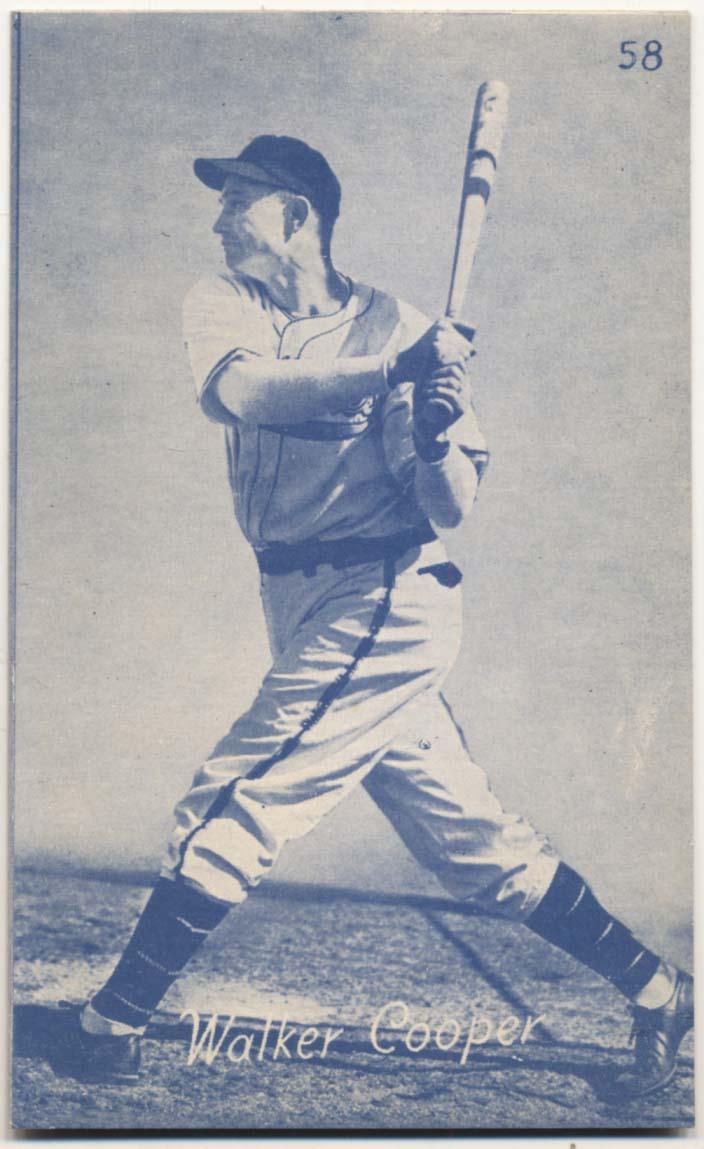 Lot #849 1953 Canadian Exhibits # 58 Walker Cooper Cond: NM