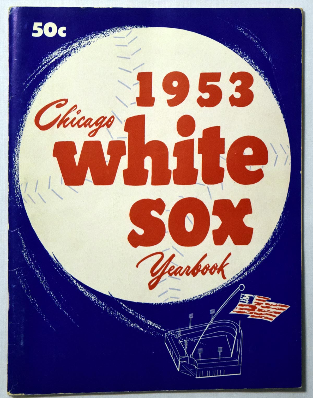 Lot #1412 1953 Yearbook  Chicago White Sox Cond: VG