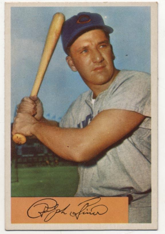 Lot #316 1954 Bowman # 45 Kiner Cond: Ex-Mt
