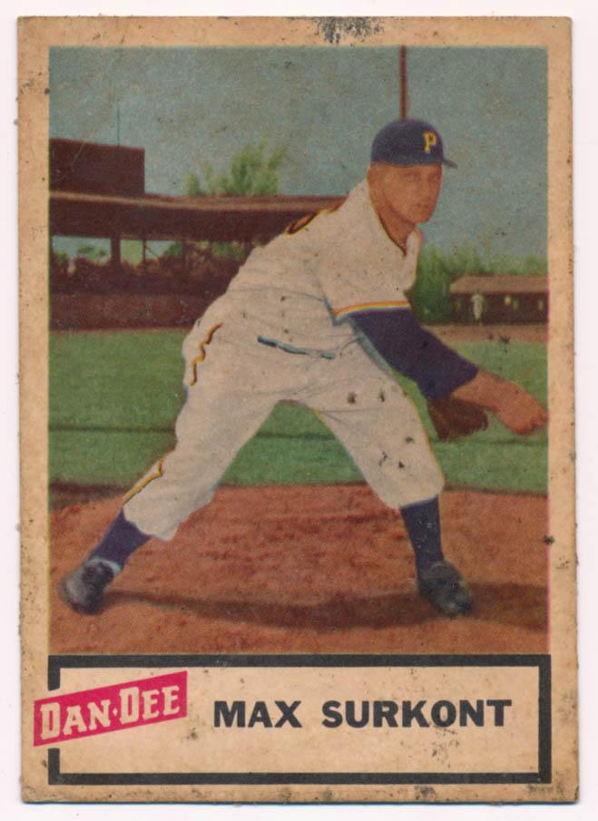Lot #762 1954 Dan Dee # 26 Surkont Cond: VG