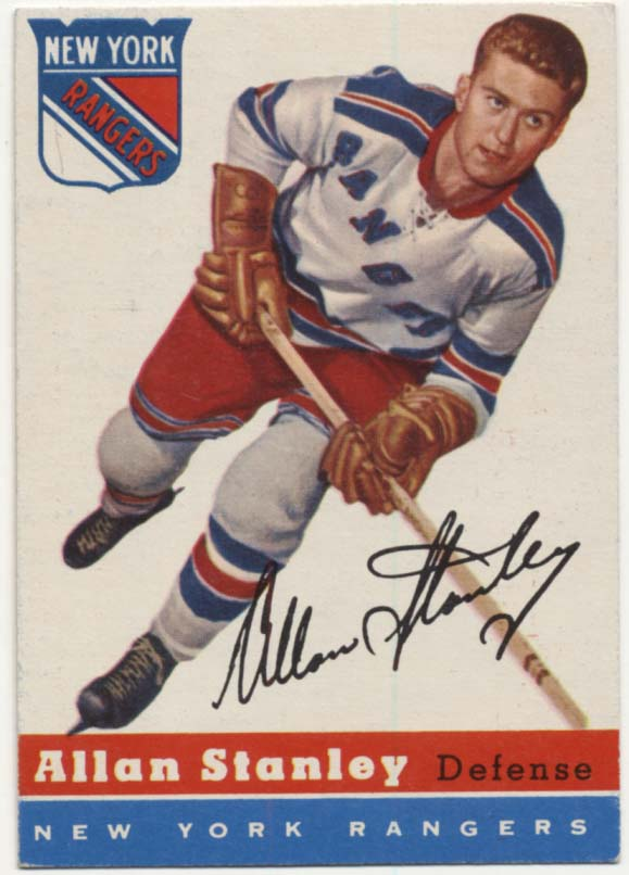 1954 Topps 41 Allan Stanley Ex++