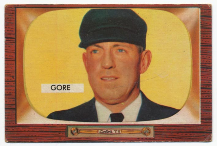 Lot #738 1955 Bowman # 289  Cond: VG-Ex
