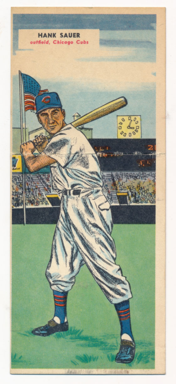 Lot #796 1955 Doubleheader # 103 Sauer/Pascual Cond: Ex