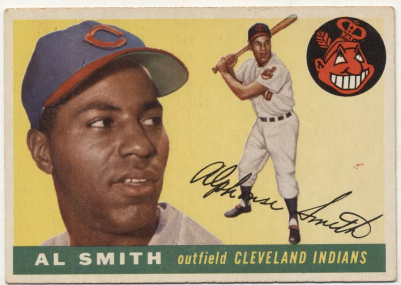 Lot #405 1955 Topps # 197 Smith Cond: VG-Ex/Ex