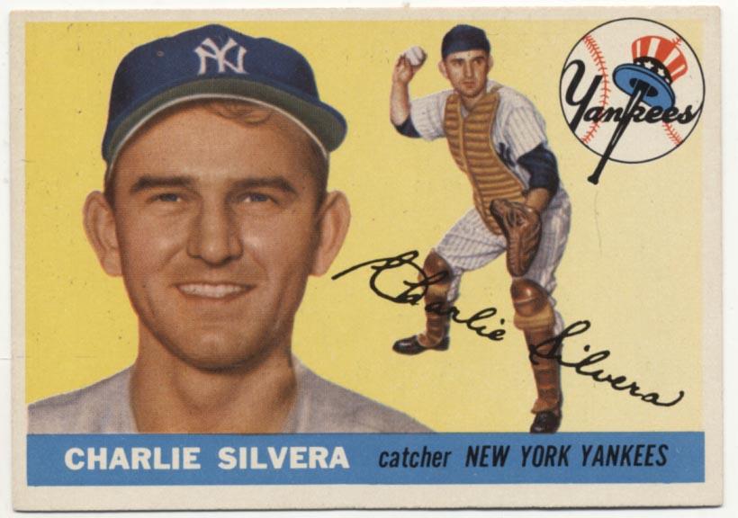 Lot #400 1955 Topps # 188 Silvera Cond: Ex-Mt+