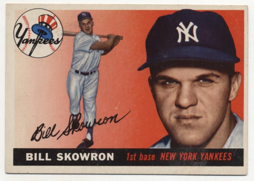 Lot #384 1955 Topps # 22 Skowron Cond: VG-Ex/Ex