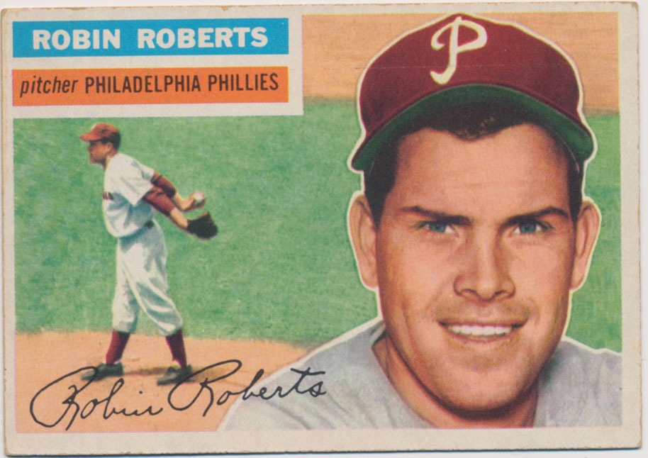 Lot #836 1956 Topps # 180 R Roberts Cond: Ex