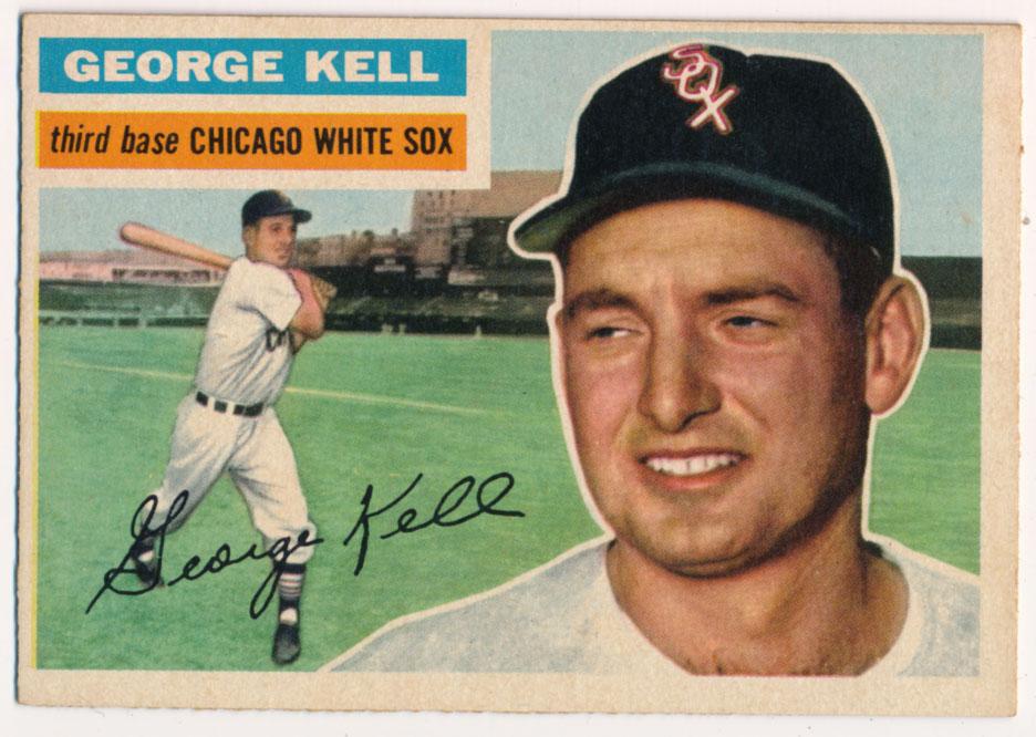 Lot #841 1956 Topps # 195 Kell Cond: Ex-Mt