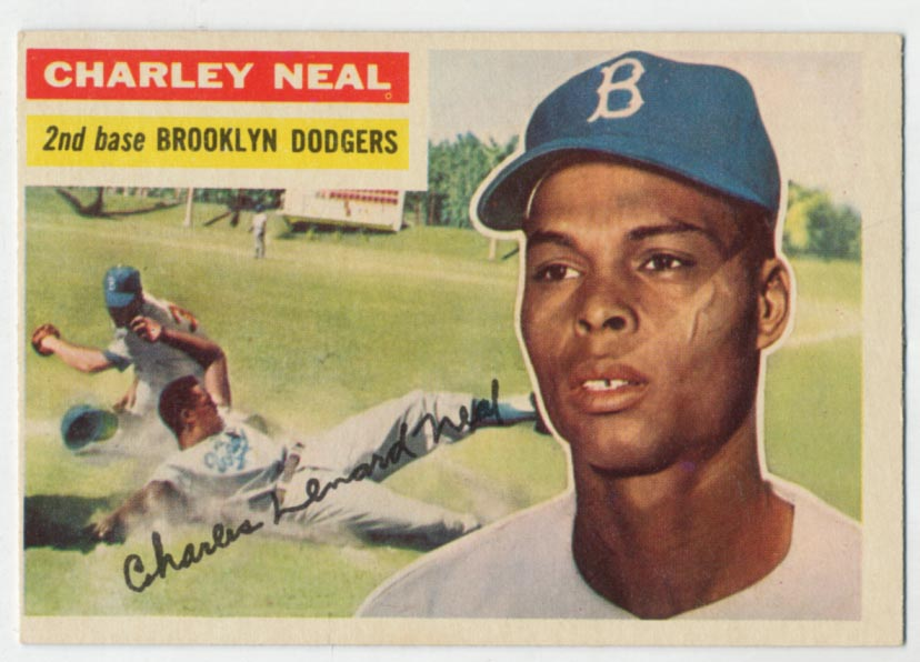 Lot #445 1956 Topps # 299 Neal Cond: Ex
