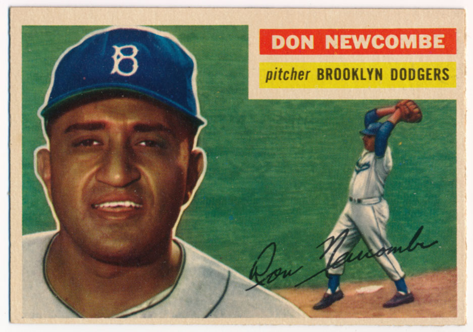 Lot #616 1956 Topps # 235 Newcombe Cond: Ex-Mt+