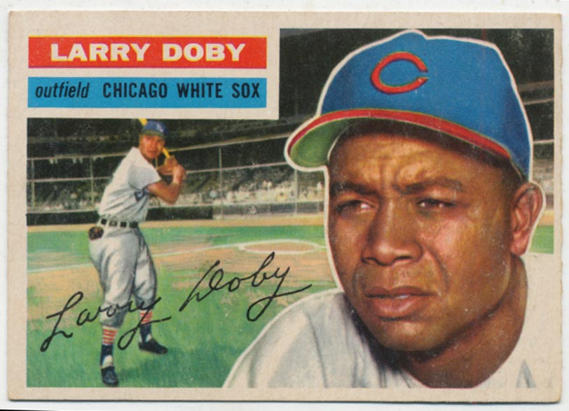 Lot #565 1956 Topps # 250 Doby Cond: Ex
