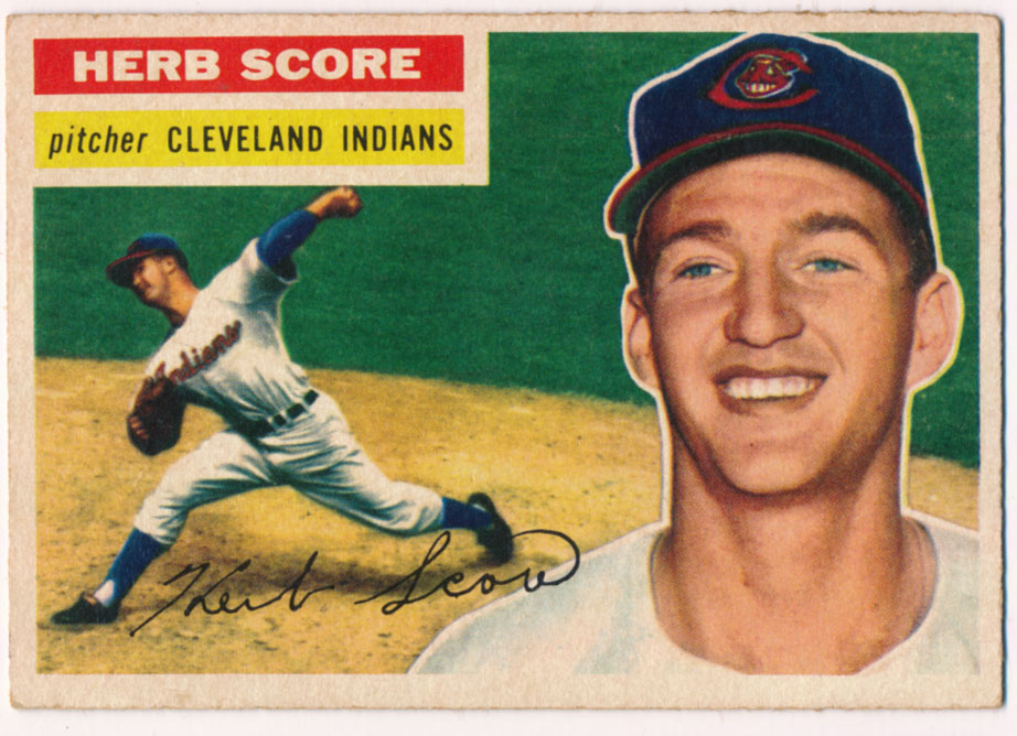 Lot #607 1956 Topps # 140 Score RC Cond: Ex