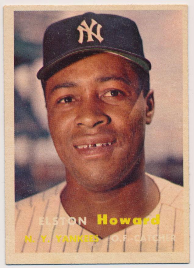 Lot #867 1957 Topps # 82 E. Howard Cond: Ex++