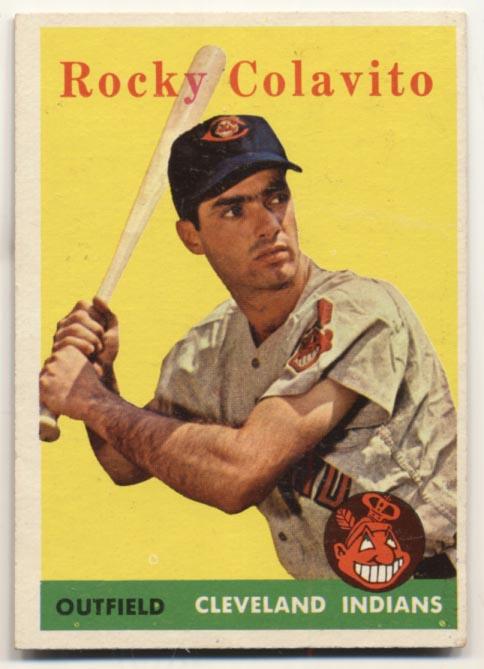 Lot #839 1958 Topps # 368 Colavito Cond: Ex+