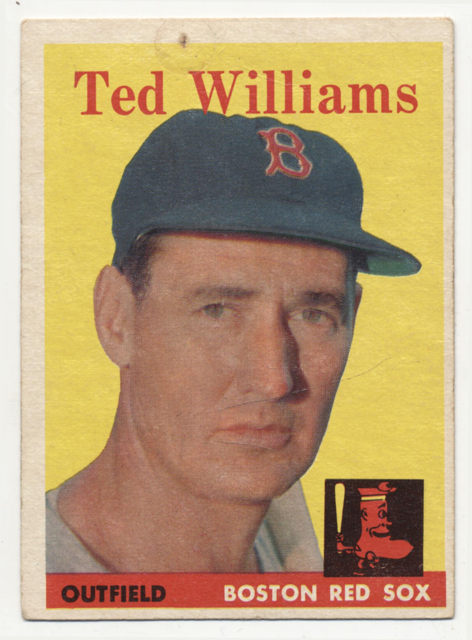 1958 Topps 1 Williams Good (ph)