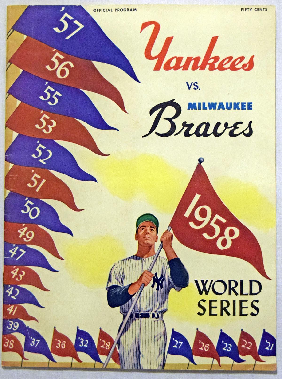 1958 WSP  At Yankees Ex-Mt