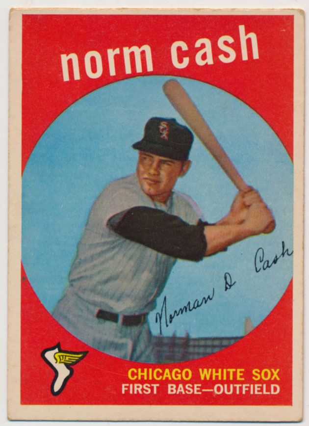 Lot #561 1959 Topps # 509 Cash RC Cond: VG-Ex/Ex