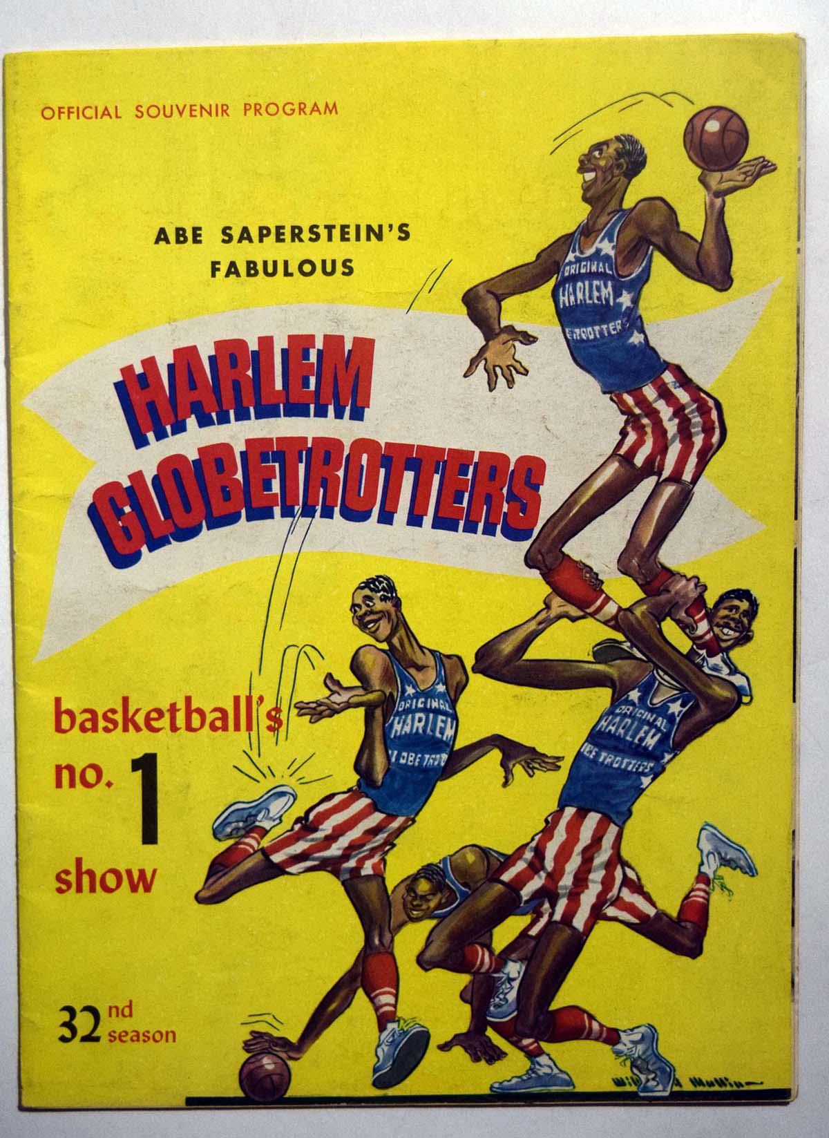 Lot #867 1959 Program  Harlem Globetrotters Cond: Ex